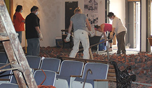 Sprout Fund Theater Clean Up